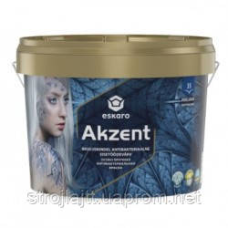 Антибактериальная краска Eskaro Akzent Эскаро Акцент 2,7л