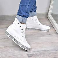 Ботинки женские Stars белые