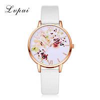 Женские наручные часы с цветочным принтом