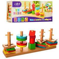 Деревянная игрушка Геометрика MD 1042