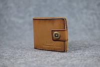 Классическое мужское портмоне (с карманом для мелочи) |10464| Италия | Орех