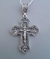 Серебряный крест христианский Арт.БР-0042031