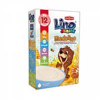 Безмолочная пшеничная каша Lino Medolino Junior с медом, 200 г