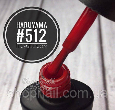 Гель-лак Харуяма №512 - малиново-красный, 8 мл, фото 2