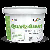 Грунтовка адгезионная Kompozit QUARTZ-GRUNT, 7 кг.