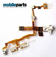 Аудио шлейф (audio flex cable) для Apple iPhone 3G,3GS (High Copy) (Белый)