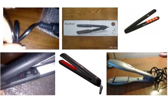 Ремонт утюжков для волос