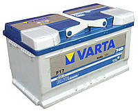 Аккумулятор   80Ah-12v VARTA BD(F17) (315х175х175),R,EN740580 406 074