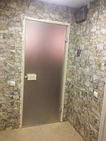Стеклянная матовая дверь. Замер, изготовление, установка