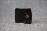 Классическое мужское портмоне (с карманом для мелочи) |10467| Италия | Кофе