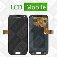 Дисплей для Samsung Galaxy S4 mini I9190, I9192, I9195 с сенсорным экраном, темно-синий, модуль