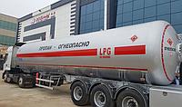 Автоцистерна  DOĞUMAK DM - LPG 55 GRY для перевозки газа