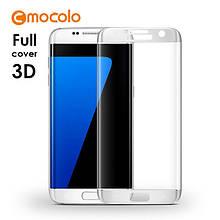 Защитное стекло Mocolo 3D 9H на весь экран для Samsung Galaxy S7 G930 серебро