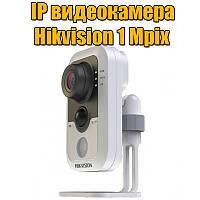 Миниатюрная Wi-Fi IP-камера с ИК-подсветкой Hikvision DS-2CD1410F-IW, 1 Mpix