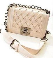 Женская сумка клатч шанель плетенная Уценка