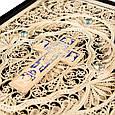 Библия с литьем и филигранью в шкатулке из замши, фото 6