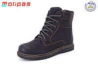 Детская зимняя обувь бренда Olipas для мальчиков (рр. с 31 по 36)