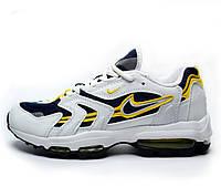 Кроссовки Nike Air Max 96 XX Белый-Салатовый 41-45 рр.