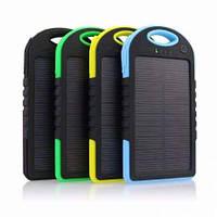 Портативный аккумулятор Power Bank 20000 mAh на солнечной панели