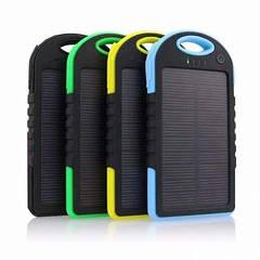 Недорогой портативный аккумулятор Power Bank 20000 mAh солнечный