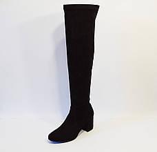 Сапог-чулок женский черный Magnolya