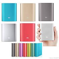 Портативное зарядное устройство Xiaomi Power Bank Mi 10400mAh. Супер цена! +подарок USB фонарь