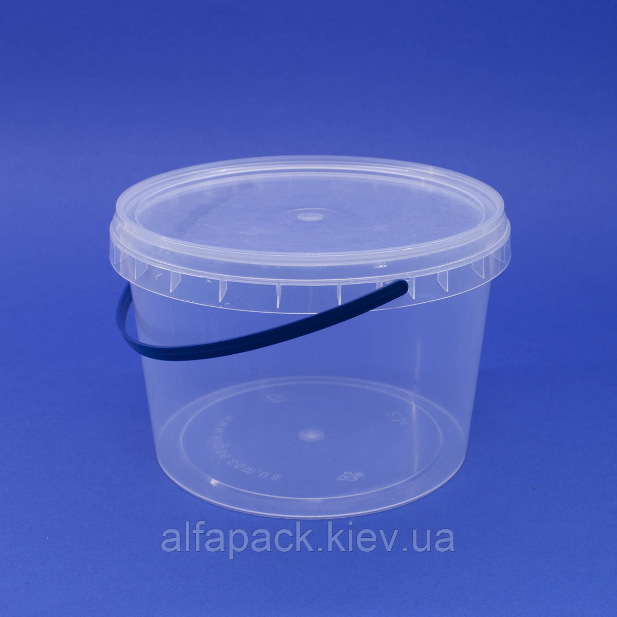 Ведро пластиковое 2,3 л