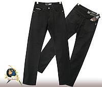 Мужские джинсы классического покроя Vigocc чёрного цвета