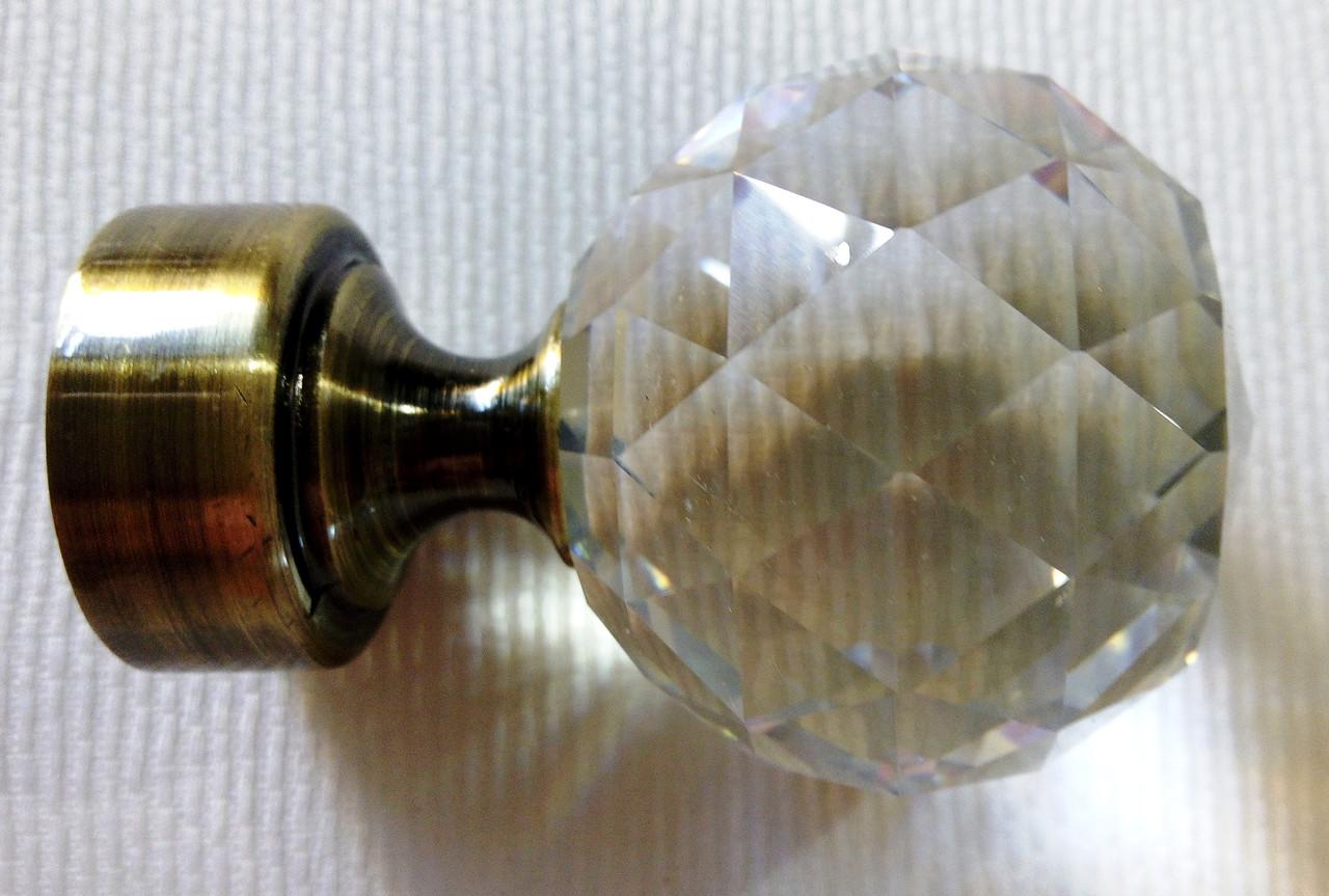 Шар кристалл д. 25 мм, антик