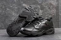 Reebok Classic мужские кроссовки черные кожаные (Реплика ААА+), фото 1