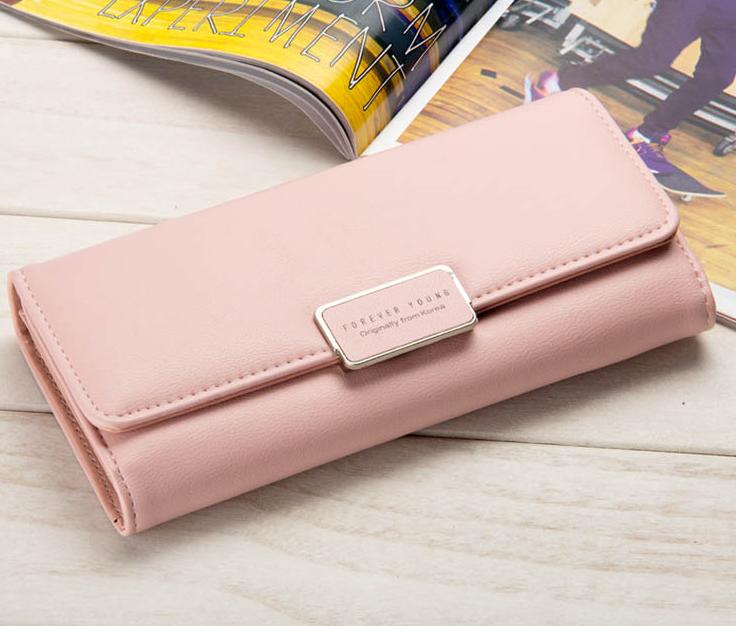 Розовый кошелек цена