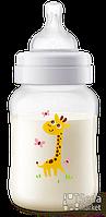 Бутылочка детская жираф Phillips Avent Classic+ SCF574/12, 260мл