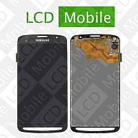 Дисплей для Samsung Galaxy S4 Active I9295, I537 с сенсорным экраном, черный (темно-серый), модуль