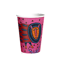 Стакан Бумажный 340 мл. Prima Maria 50шт (35/1750) (КB-80)Розовый