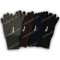 Перчатки для мальчика трикотажные с подкладкой и манжетом, M05-L