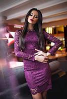 Женское платье с кружевом новинка 2017