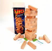 Настольная игра Vega Вега Башня Дженга