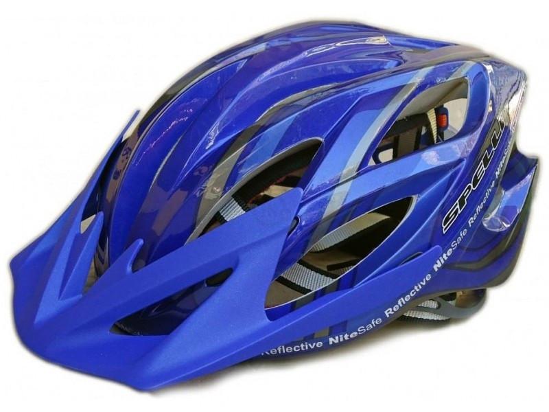 Велосипедный шлем SPELLI SBH-5500 синий