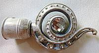 Глаз дракона д. 25 мм, белое золото