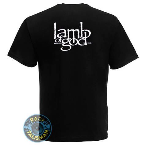 Футболка LAMB OF GOD (лого), фото 2