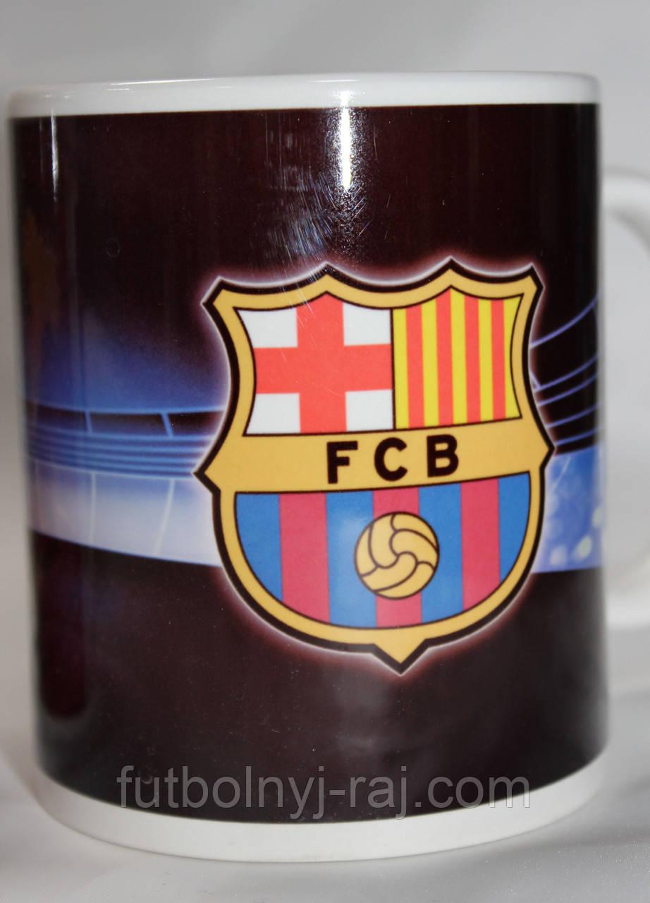 Футбольна Чашка чайна з зображенням символіки FC Barcelona