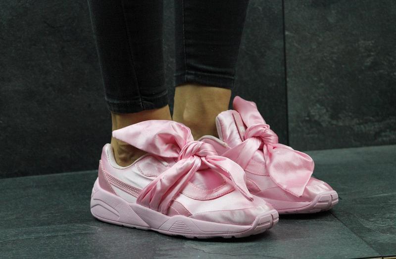 Жіночі фірмові кросівки Puma x Fenty by Rihanna bow рожеві - Камала в  Хмельницком bde4835311937