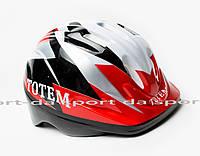 Шлем с регулировкой размера - DEFEND7 Red-White