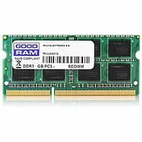 Память GoodRam 8 GB (1x8 GB) 204-pin SO-DIMM DDR3-1600 MHz, PC3-12800, CL11, 1.35 V (GR1600S3V64L11