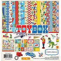 Набір двостороннього паперу від Carta Bella Toy Box