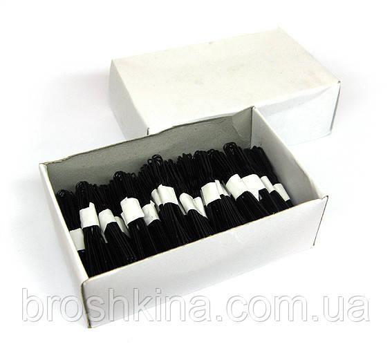 Шпильки черные 5 см 500 шт/уп