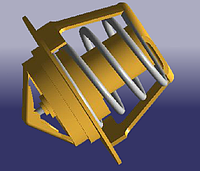 Термостат CHERY AMULET A11 Китай оригинал 480-1306020