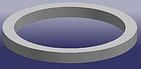 Прокладка термостата CHERY AMULET A11 Китай оригинал 480-1306011