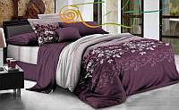 """Комплект постельного белья из ранфорса ТМ """"Ловец снов"""", Спокойный фиолетовый"""