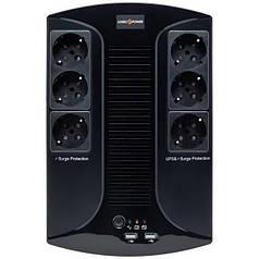ИБП LogicPower LP 850VA-6PS (510 Вт).